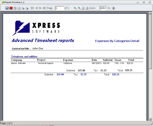 expensedetails