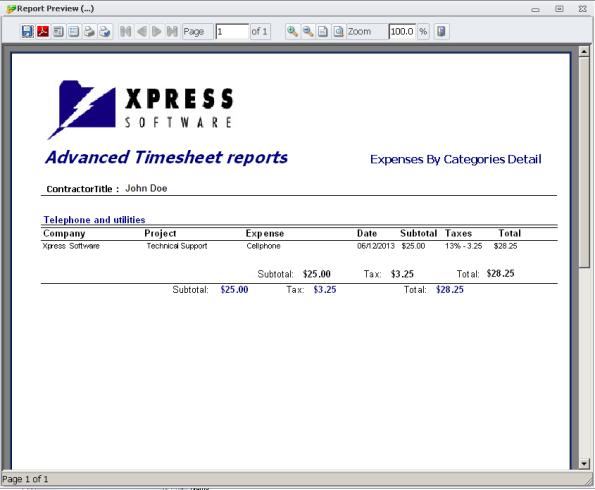 expensedetails