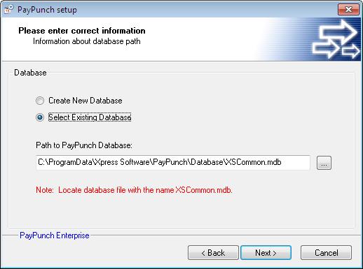 existing-database