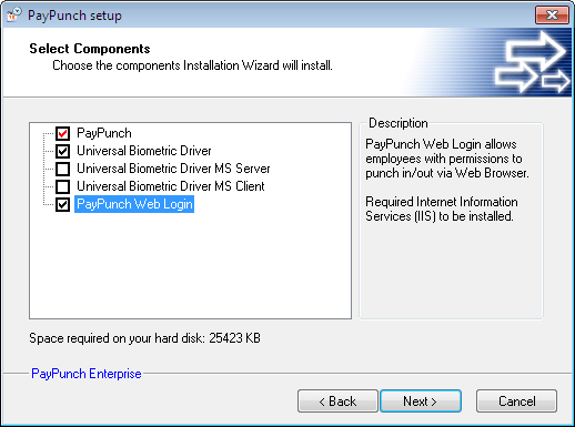 Installing and Configuring PayPunch Web Login | Xpress