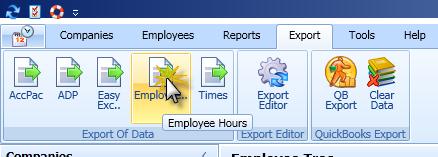 Export Editor Export